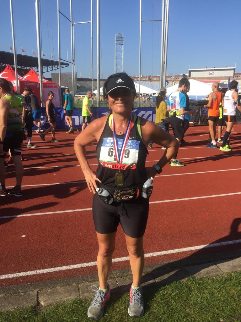 מרתון אמסטרדם, דורית סדן.