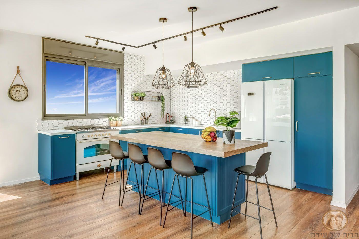 מטבחי זיו- עיצוב הבית של אידה- רייצ'ל הלפרין, צילום אודי גורן
